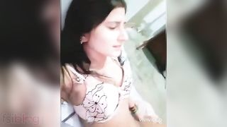 Paki paramours sex MMS video dripped online
