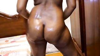 Hawt undressed pussy show MMS movie scene
