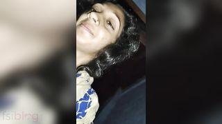 Shy Desi wife riding knob of her pervert spouse on webcam