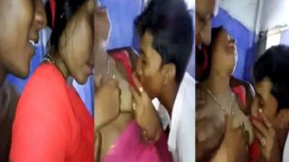 Tamil wife manhandled by group of chaps