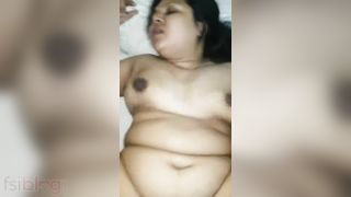 Aged Desi aunty Hindi XXX sex with her husbands ally