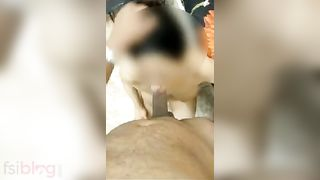 Hot wife XXX sex in doggy position