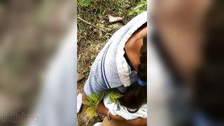 Dehati Randi hotty outdoor oral stimulation sex with customer