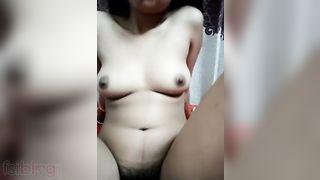 Desi Webcam sex show for her client
