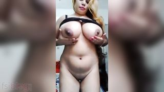 Super busty Paki wife striptease show movie scene