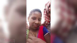 Indian tribal pair sex MMS movie scene