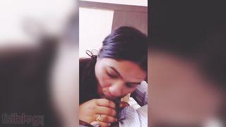 Hawt Indian POV blowjob sexy MMS