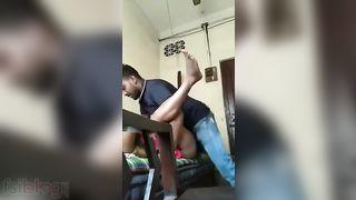 Desi Randi sex with her customer in livecam