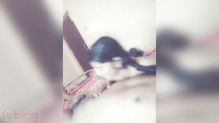 Bengali college girl hot fellatio video