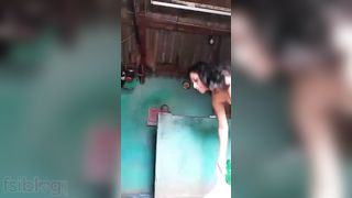 Super hot village angel stripped MMS video
