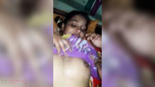 Muslim GF XXX porn on the eve of Eid