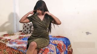 Sexy Indian girl striptease show video
