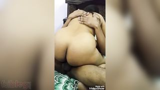 Breasty Indian wife sharing three-some sex episode