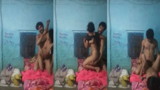 Shy village wife sex with her spouse