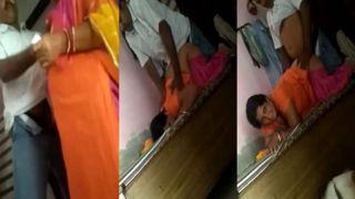 Breasty Bhabhi sharing sex MMS