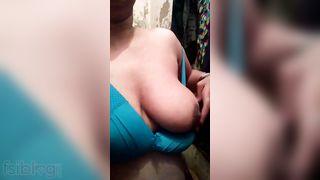 Hawt Bhabhi showing boobs selfie movie