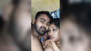 Hindi couple sex video with Hindi audio