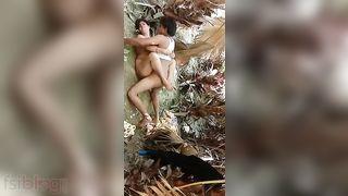 Dehati pair outdoor fuck MMS movie