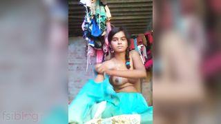 Punjabi angel nude MMS sex movie scene
