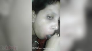 Stripped Indian wife fucking with her neighbour MMS movie