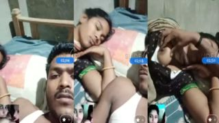 Bengali wifes sexy boob show episode MMS
