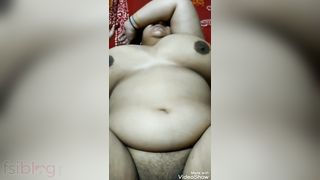 Bulky Indian wife sex video scandal