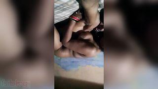 Village pair sex scandal clip dripped online