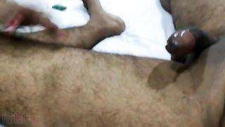 Hawt Dehati blow job porn episode of a lonely Dehati Bhabhi