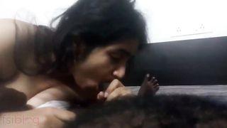 Breasty Bangla hotty oral stimulation video