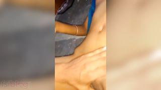 Indian Telugu HOTTIE in sex act with her boyfriend