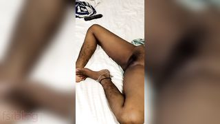 Sleeping wife pussy show MMS video