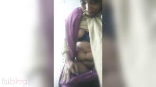 Bhabhi Bare Selfie video to make you shag your dick