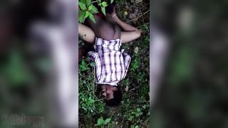 Outdoor Dehati hardcore sex movie scene