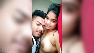 Newly married pair sex episode dripped online