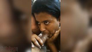 Telugu Pair BJ sex caught on cam movie scene