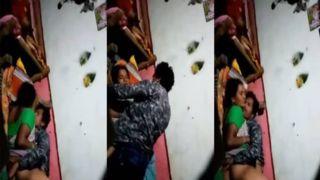 Dehati hidden web camera sex clip dripped online