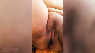 Breasty aunty mature pink pussy show