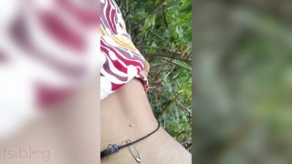 Doggystyle Desi sex outdoors MMS movie