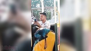Indian lovers outdoor oral pleasure sex caught on webcam