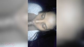 Real Indian large pecker engulfing video MMS
