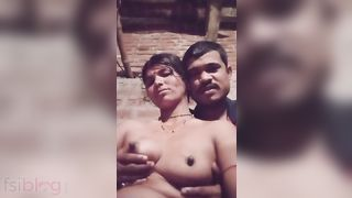 Lactating Dehati wife sex play movie scene MMS