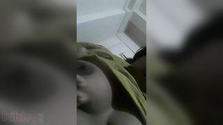 Dehati milking milk shakes show selfie MMS movie
