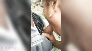 Telegu paramours outdoor sex got caught on webcam