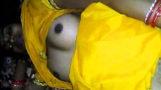 Dehati sexy unshaved slit drilled by her BOYFRIEND