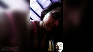 Sonia Bhabhi boob show on a video call