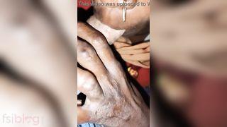 Indian Gypsy engulfing schlong MMS sex clip