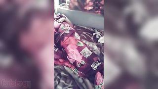 Undressed hawt Desi wife body parts explored on webcam