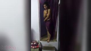 Hawt Indian college girls topless Desi nude dance