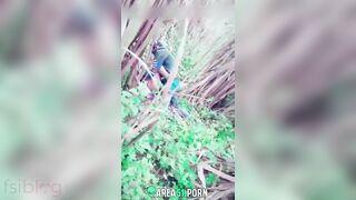 Indian Randi outdoor sex act caught by a voyeur