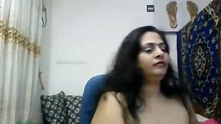 Desi woman webcam show movie scene for the first time